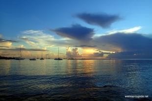 Bayahibe - zachód słońca