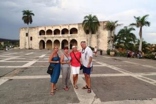 Santo Domingo - Pałac Diego Kolumb