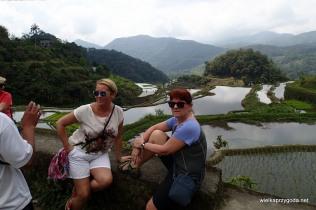 Basia i Kamila na tarasach ryżowych
