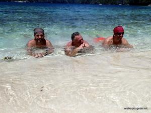Chwila orzeźwienia w wodzie