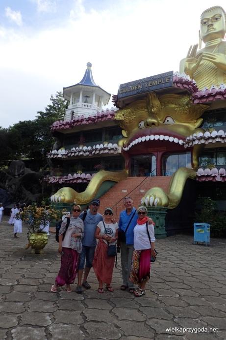 Dambulla - Złota świątynia