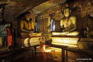 Dumballa - Skalna świątynia