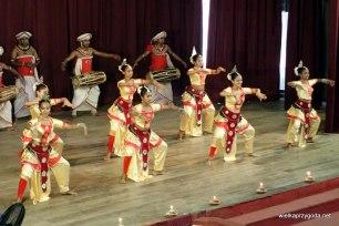 Pokaz tradycyjnego tańca