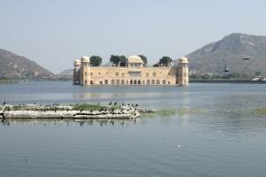 Jaipur Pałac na wodzie Jal Mahal